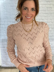 ROXANE JUMPER IN POWDER PINK