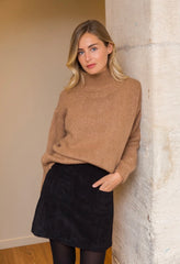 ROSIE JUMPER IN CAMEL