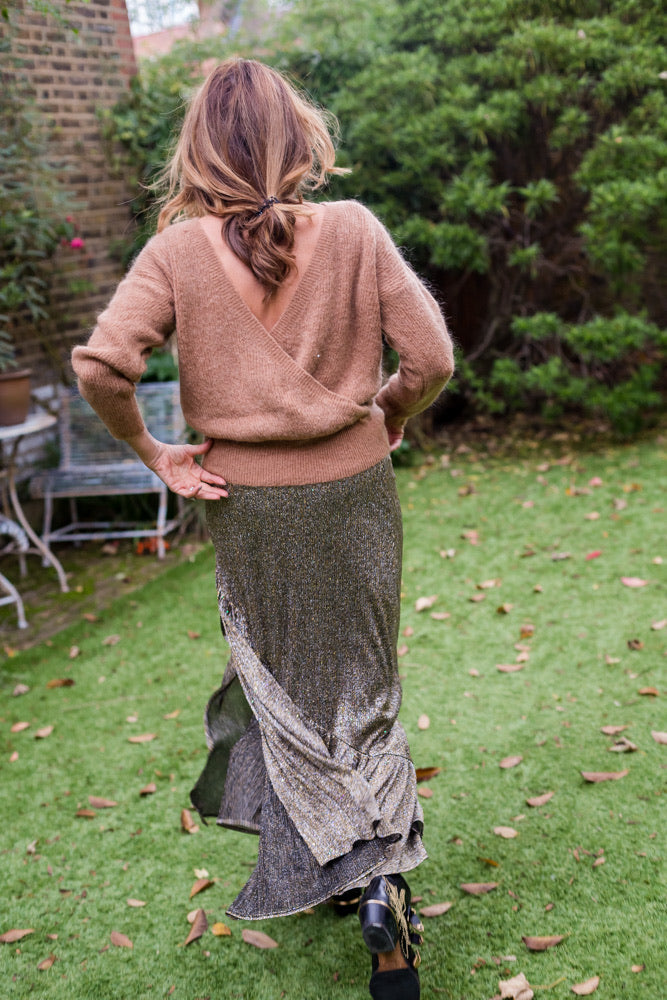 JULIE JUMPER IN CAMEL
