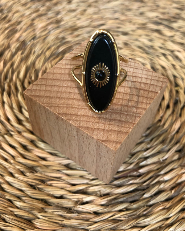 MARGAUX RING BLACK