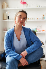 MAELYS CARDI IN BLUE - PRE ORDER - DELIVERY FROM 15/05