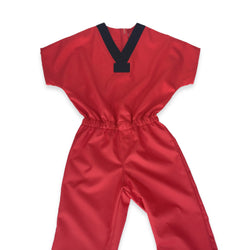 Unisex S/S V-Neck Tough Jumpsuit # 307SSJUMV