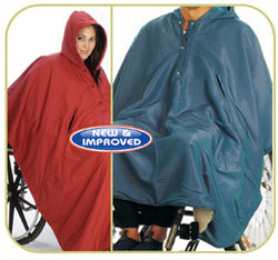 Adult Rain Cape for Ambulatory and Non Ambulatory