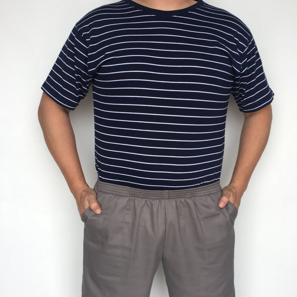 Men's Short Sleeve Crew Neck Jumpsuit # Msscjum