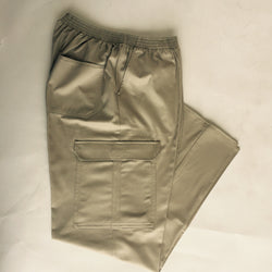 Full Elastic Waist Cargo Pants for Men #103EC