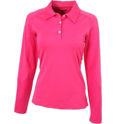 Womens Long Sleeve Body Shirt Polo #Bslspf