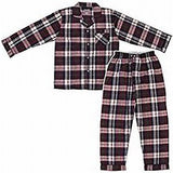 Men's Long Sleeve Broadcloth Pajama Jumpsuit Snaps #601JZ
