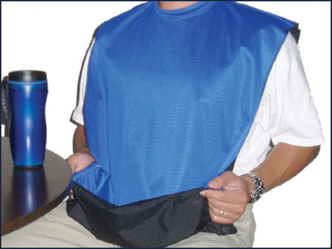 Adult Bib Jersey Protector with Catchall # MF101J