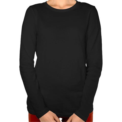 Womens Long Sleeve Body Shirt Crew # Bslscf