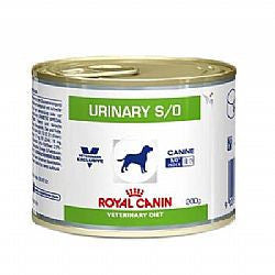 Ração Royal Canin Lata Canine Veterinary Diet Urinary S/O - 200 G