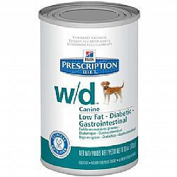 Ração Hills Canine Prescription Diet W/D Lata - 370g