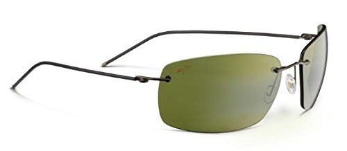 Maui Jim Frigate Sunglasses, Dark Gunmetal with Smoke Sleeve/Maui HT, One Size