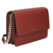 MICHAEL KORS Daniela Large Saffiano Leather Brick Crossbody Handbag