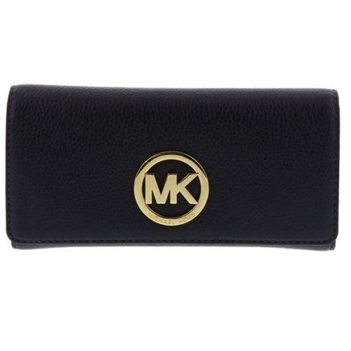 MICHAEL KORS Soft Venus Admiral Blue Carryall Wallet