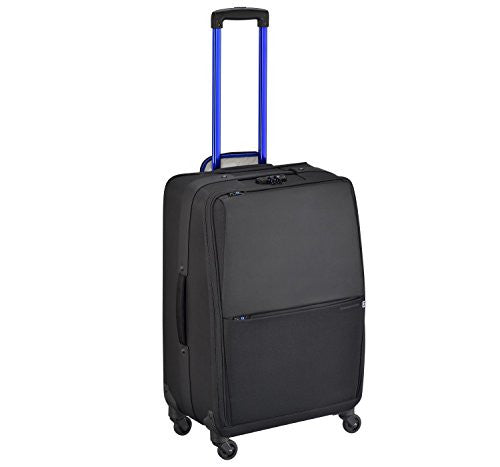 ZERO HALLIBURTON New York Greenwich 24-inch Black Spinner Suitcase