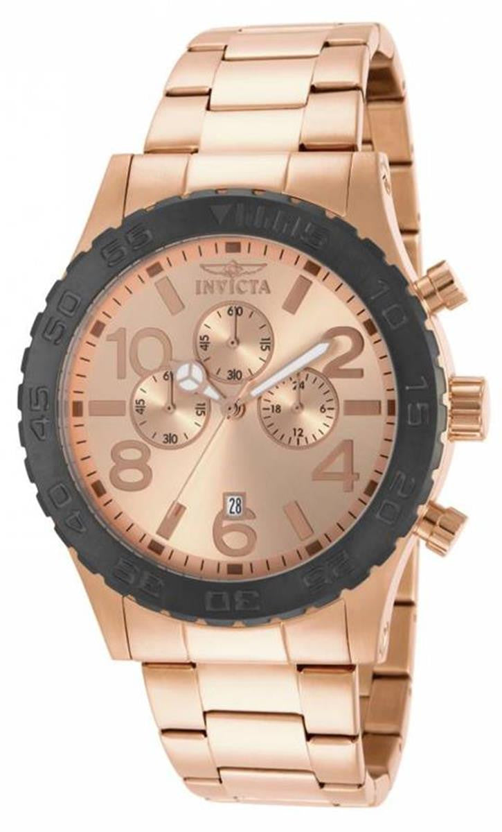 Invicta Men's 15161 Specialty Quartz Chronograph Rose Gold Dial Watch