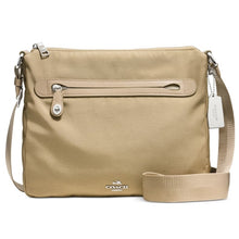COACH Nylon Canvas Crossbody - Putty