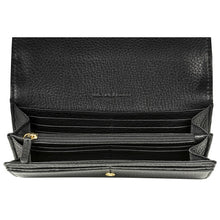 MICHAEL KORS Fulton Black Carryall Wallet