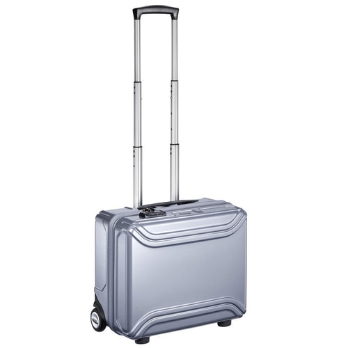 ZERO HALLIBURTON Air II 17-inch Grey Rolling Business Case