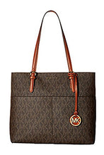 MICHAEL KORS Bedford Signature Large Pocket Tote Bag