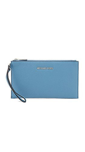 MICHAEL Michael Kors Bedford Large Zip Clutch - Electric Blue