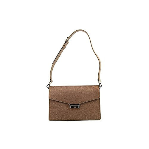 KATE SPADE Parker Street Luxe Brielle Satchel - Brown