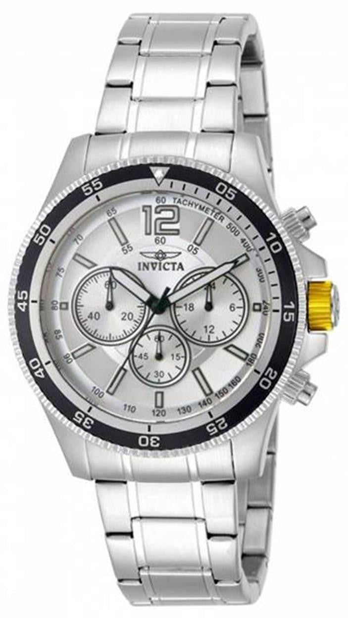 Invicta Men's INVICTA-13975 Specialty Analog Display Japanese Quartz Silver Watch