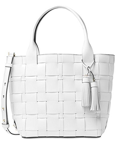 MICHAEL KORS Vivian Medium Tote - Optic White