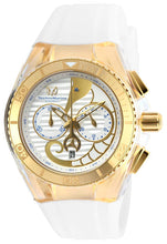 TECHNOMARINE Unisex TM-115003 Cruise Dream Quartz Chronograph Gold, Antique Silver Dial Watch