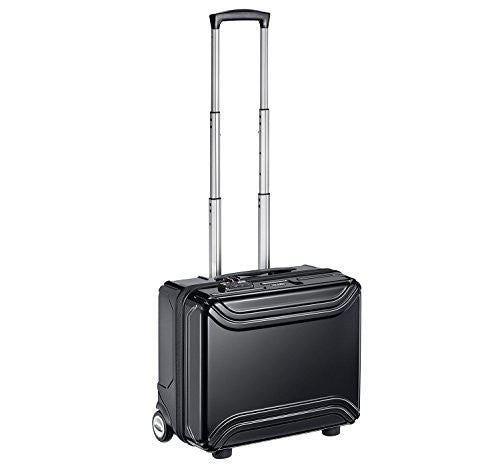 ZERO HALLIBURTON Air II 17-inch Black Rolling Business Case