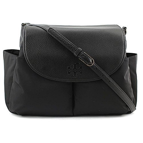 TORY BURCH Thea Nylon Baby Bag Messenger - Black