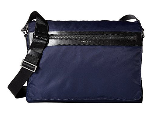 MICHAEL KORS Kent Nylon Large Messenger - Indigo