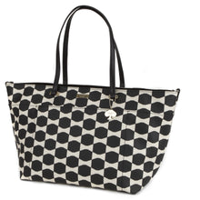 KATE SPADE Bow Tile Francis Baby Bag - Black Ostrich