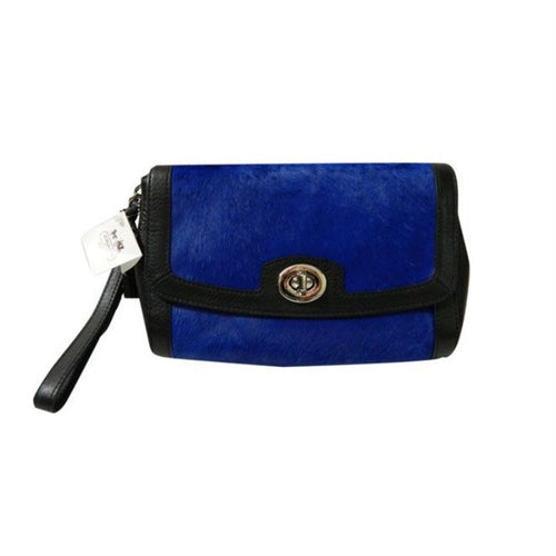 COACH Legacy Pinnacle Large Flap Clutch