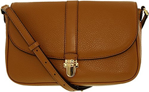 MICHAEL KORS Charlton Acorn Brown Large Crossbody Handbag