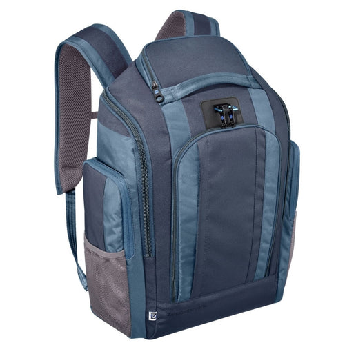 ZERO HALLIBURTON New York Blue Nylon Organizer Backpack