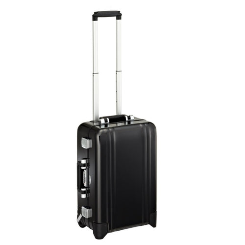 ZERO HALLIBURTON Classic 21-inch Aluminum Carry On 4-Wheel Spinner Suitcase