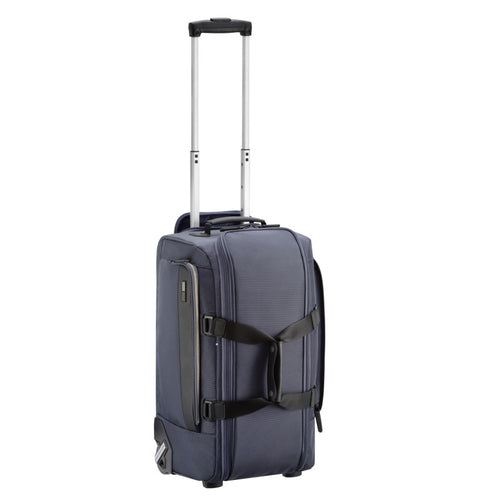 ZERO HALLIBURTON Zest 20-inch Navy Wheeled Carry-On Duffel Bag