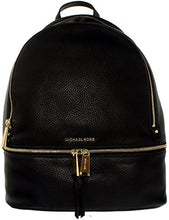 MICHAEL Michael Kors Rhea Zip Large Leather Backpack - Admiral