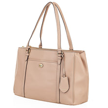 COACH Peyton Leather Jordan Double Zip Carryall