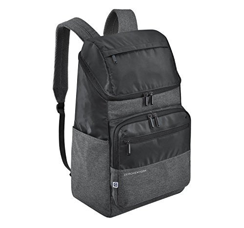 ZERO HALLIBURTON Zero New York Uptown Large Black Backpack