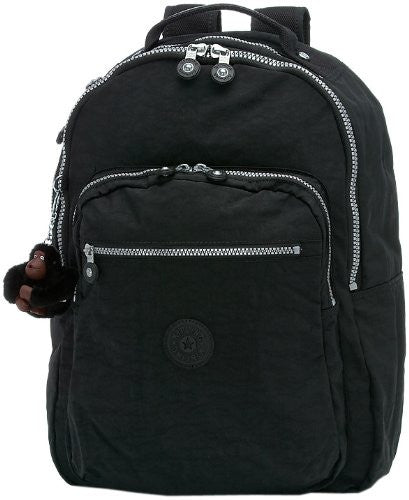 KIPLING Seoul Laptop Backpack With Furry Monkey