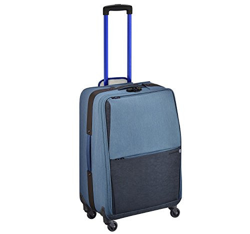 ZERO HALLIBURTON New York Greenwich 24-inch Blue Spinner Suitcase