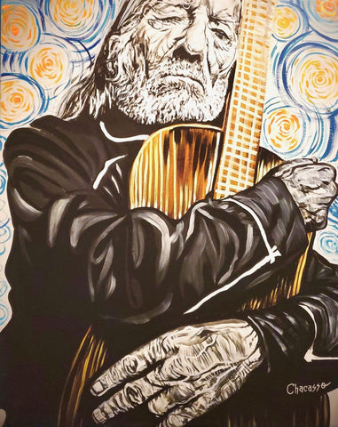 Willie Nelson Starry Night