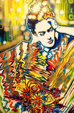 Frida Dripping in Gold