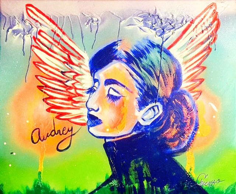 Audrey with Wings