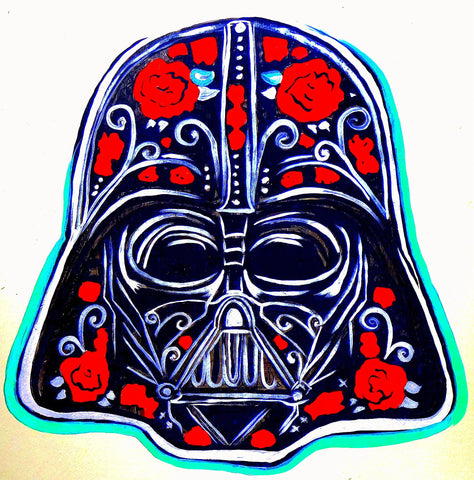 Day of the Dead Darth Vader