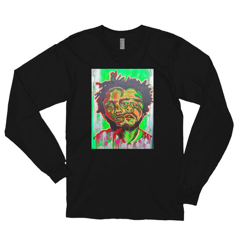 Chacasso - Kendrick and J-Cole Long sleeve t-shirt