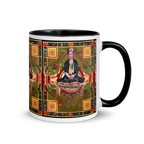 Chacasso - Freda on Flying Carpet Mug with Color Inside