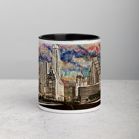 Chacasso - Downtown ATX Mug with Color Inside